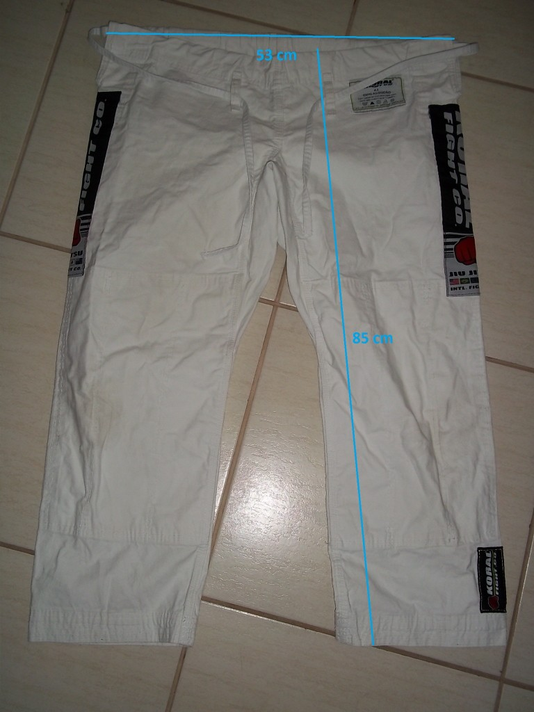 MKM - Medidas da calça