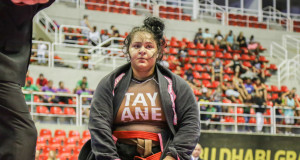 Tayane Porfírio e o desafio de baixar 42kg para lutar o World Pro