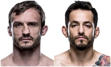 Pickett x Briones (Foto: UFC)