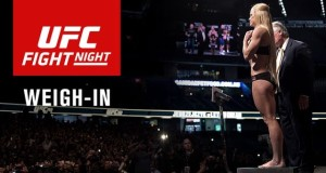Vídeo: Assista a pesagem do UFC on Fox 20 – Holm vs Shevchenko
