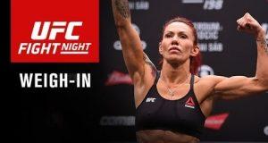 Confira os resultados e o vídeo da pesagem do UFC Fight Night 95 em Brasília