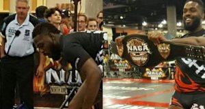 Confira Jon Jones lutando um torneio de Jiu Jitsu sem kimono (e sendo finalizado)