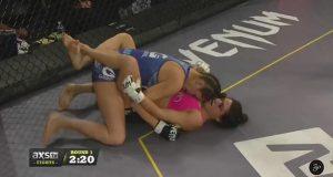 Mackenzie Dern ganha sua segunda luta de MMA